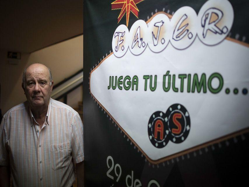 Francisco Abad, presidente de la Federación Andaluza de Jugadores de Azar Rehabilitados.